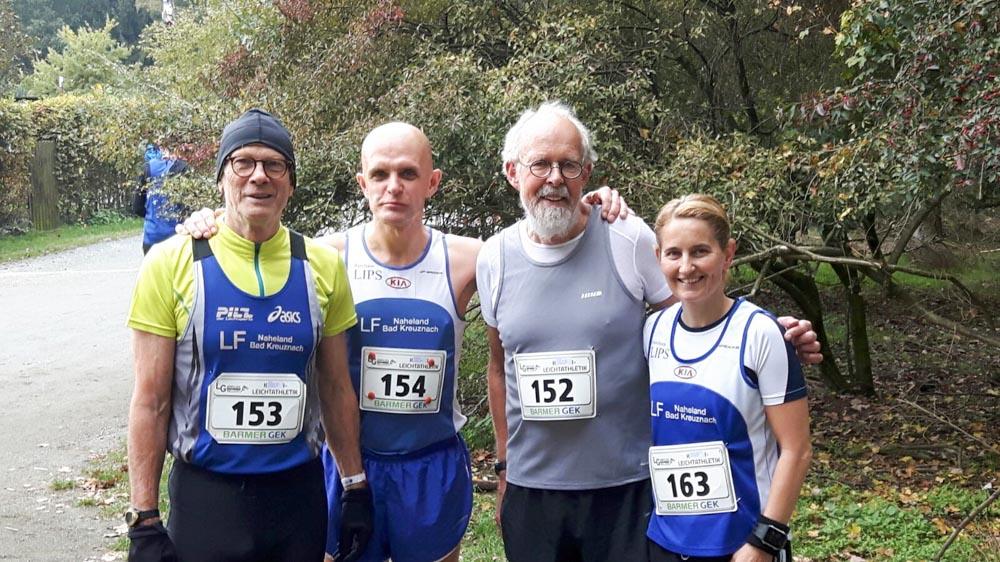 Erfolgreiche Teilname am 29. Waldlauf der TSG Waldorf/Hessen über 10 Kilometer